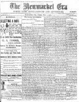 Newmarket Era (Newmarket, ON1861), May 1, 1903