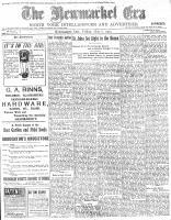 Newmarket Era (Newmarket, ON1861), May 8, 1903