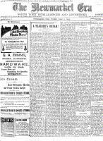 Newmarket Era (Newmarket, ON1861), June 5, 1903