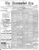 Newmarket Era (Newmarket, ON1861), July 3, 1903