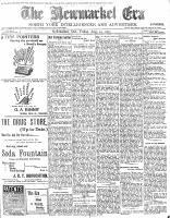 Newmarket Era (Newmarket, ON1861), August 14, 1903