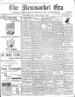 Newmarket Era (Newmarket, ON1861), August 21, 1903