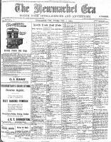 Newmarket Era (Newmarket, ON1861), October 2, 1903