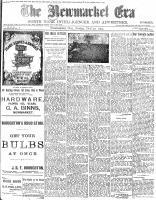 Newmarket Era (Newmarket, ON1861), October 30, 1903