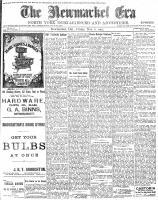 Newmarket Era (Newmarket, ON1861), November 6, 1903