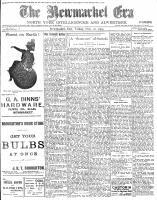 Newmarket Era (Newmarket, ON1861), November 20, 1903