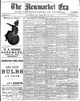 Newmarket Era (Newmarket, ON1861), November 27, 1903