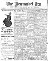 Newmarket Era (Newmarket, ON1861), December 4, 1903