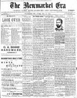 Newmarket Era (Newmarket, ON1861), December 18, 1903