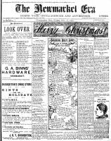 Newmarket Era (Newmarket, ON), December 25, 1903