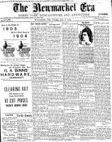 Newmarket Era (Newmarket, ON1861), January 8, 1904