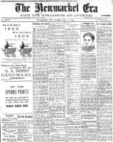 Newmarket Era (Newmarket, ON1861), February 5, 1904