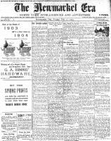 Newmarket Era (Newmarket, ON1861), February 12, 1904