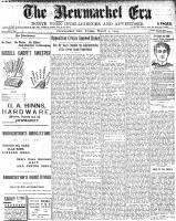 Newmarket Era (Newmarket, ON1861), March 4, 1904