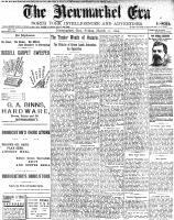 Newmarket Era (Newmarket, ON1861), March 11, 1904