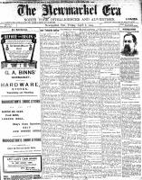 Newmarket Era (Newmarket, ON1861), April 8, 1904