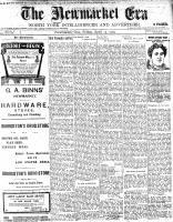 Newmarket Era (Newmarket, ON1861), April 15, 1904