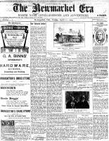Newmarket Era (Newmarket, ON1861), April 22, 1904