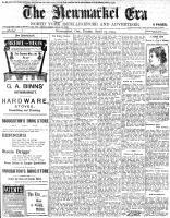 Newmarket Era (Newmarket, ON1861), April 29, 1904