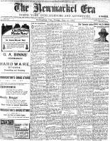 Newmarket Era (Newmarket, ON1861), May 20, 1904