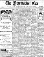 Newmarket Era (Newmarket, ON1861), May 27, 1904