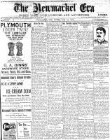 Newmarket Era (Newmarket, ON1861), July 15, 1904
