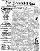 Newmarket Era (Newmarket, ON1861), July 29, 1904