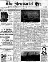 Newmarket Era (Newmarket, ON1861), August 12, 1904