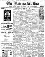 Newmarket Era (Newmarket, ON1861), November 4, 1904