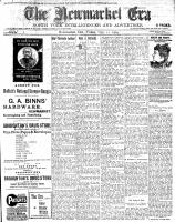 Newmarket Era (Newmarket, ON1861), November 11, 1904
