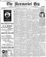 Newmarket Era (Newmarket, ON1861), December 2, 1904