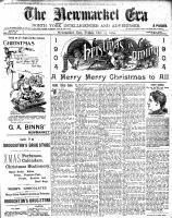 Newmarket Era (Newmarket, ON1861), December 23, 1904