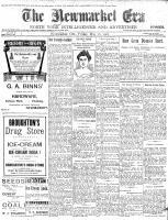 Newmarket Era (Newmarket, ON1861), May 26, 1905
