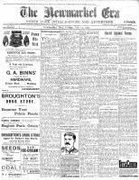 Newmarket Era (Newmarket, ON1861), July 14, 1905