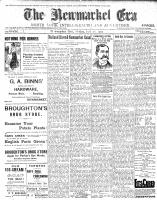 Newmarket Era (Newmarket, ON1861), July 28, 1905