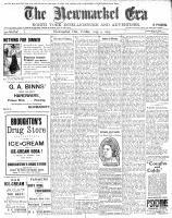 Newmarket Era (Newmarket, ON1861), August 4, 1905