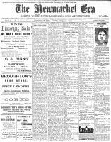 Newmarket Era (Newmarket, ON1861), August 25, 1905