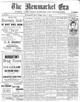 Newmarket Era (Newmarket, ON1861), September 1, 1905
