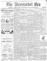 Newmarket Era (Newmarket, ON1861), December 15, 1905