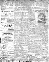 Newmarket Era (Newmarket, ON1861), January 26, 1906