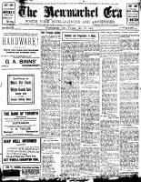Newmarket Era (Newmarket, ON1861), January 18, 1907