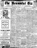 Newmarket Era (Newmarket, ON1861), February 22, 1907