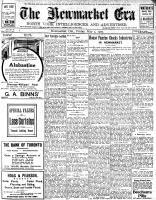 Newmarket Era (Newmarket, ON1861), May 3, 1907