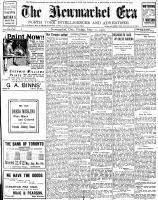Newmarket Era (Newmarket, ON1861), May 31, 1907