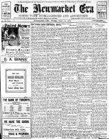 Newmarket Era (Newmarket, ON1861), June 14, 1907