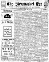 Newmarket Era (Newmarket, ON1861), June 28, 1907