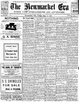 Newmarket Era (Newmarket, ON1861), August 23, 1907