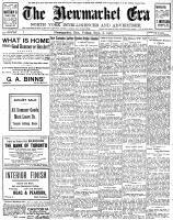 Newmarket Era (Newmarket, ON1861), September 6, 1907