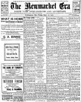 Newmarket Era (Newmarket, ON1861), September 20, 1907