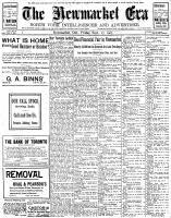 Newmarket Era (Newmarket, ON1861), September 27, 1907